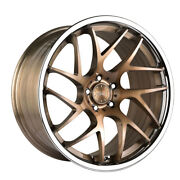 20 Vertini Rf1.4 Forged Bronze Concave Wheels Rims Fits Mercedes W221 S550 S63