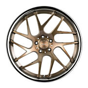20 Vertini Rf1.4 Forged Bronze Concave Wheels Rims Fits Honda Accord Coupe