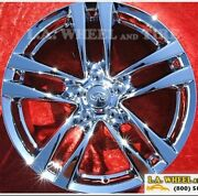 Set Of 4 Chrome 18 Oem Wheels Rims For Infiniti G37 Coupe Convertible Rwd 73702