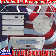 2015-2017 F150 Ford Chrome Door Handle Covers+gas+tailgate+brakelightsee Notes