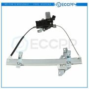 For 1997-2005 Buick Century Rear Driver Side Power Window Regulator With Motor