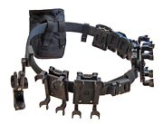 Dlp Tactical Complete 3-gun Competition Belt Rig System With Holster And Pouches