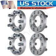 4pcs 1 Inch 5x5 Wheel Spacers 1/2x20 Studs For Jeep Wrangler Grand Cherokee