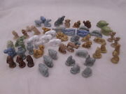 57 Wade Figurines Red Rose Tea Made In England Animals Gnomes Cannons