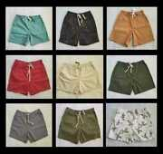 New Menand039s Xs S M L Xl J Crew Dock Shorts Chino In Various Colors / Patterns