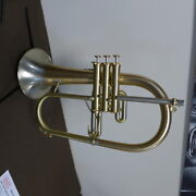 New Selected Adams F1 Flugelhorn In Satin Lacquer With Red Brass/nickel Bell