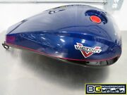 Eb401 2014 Victory Cross Country Fuel Tank Imperial Blue/cruiser Black