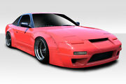 For 89-94 Nissan 240sx S13 Hb Rbs V3 Wide Body Kit 11pc 113877