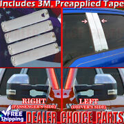 15-18 Ford F150 Chrome Door Handle Covers Nosk+pillar Posts Nokp+mirrors Tow 4dr