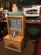 1934 Arcade Game Personality Love Tester By Exhibit Supply Co. Watch Video