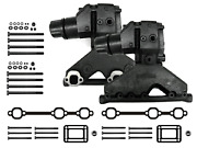 Volvo Penta Exhaust Manifold Package With Risers Gaskets Bolts Omc 4.3l V6 4.3