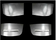 Studebaker M-series Truck Inner And Outer Cab Corner 4 Piece Set 1941-47