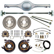 Currie 55-59 Chevy 6-lug Truck Dropped Rear End And Disc Brakeslinesaxle9 Drop