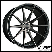 22 Vertini Rf1.3 Black Forged Concave Wheels Rims Fits Land Rover Range Rover