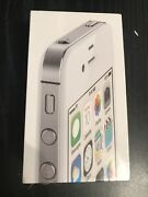 Brand New Apple Iphone 4s White 8gb Sealed Great Collection Only