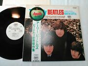 The Early Beatles Japan Original Apple Ap-80034 Red Wax Promo White Label Sample