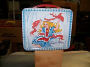 Rare 1973 Junior Miss Metal Lunch Box And Thermos Lunchbox Complete Set