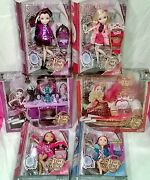 Ever After High Getting Fairest 4 Dolls Including Fainting Counch And Vanity