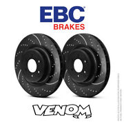 Ebc Gd Front Brake Discs 330mm For Ford Mustang 4th Gen 4.6 Cobra 96-04 Gd7021