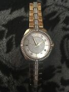 Womens Bulova Watch 98l228 Water Resistant, Great Condition Only Worn 5 Times