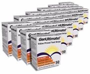 Genultimate Test Strips For Use With Onetouch Ultra Meters   Lot Of 24 Boxes