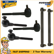Front Inner And Outer Tie Rod Kit And Adjusting Sleeve For Ford Lincoln Mercury