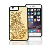 Luxury Wood Fruit Pineapple Smartphone Case Cover Apple Iphone And Samsung Gift