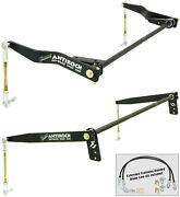New Currie Antirock Front And Rear Sway Bar Kit,fits Jeep Wrangler Jk 2-door
