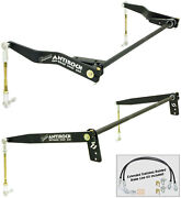 New Currie Antirock Front And Rear Sway Bar Kit07-18 Jeep Wrangler Jk 4-door