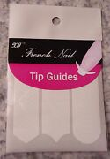 100 Stickers Kit French Manicure Tip Guide Nails Nail Art