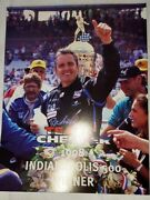 Vintage Team Cheevers 1998 Photo Biography And New Releases Nascar Indy 500 Winner