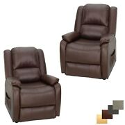 30 Rv Reclining Power Lift Chair Mahogany Handicap Recliner 2 Chairs Mobility