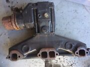 Volvo Penta 5.0 Gl Starboard/port Side Exhaust Manifold And Riser - Good Condition