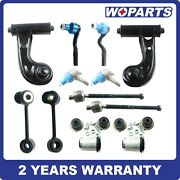 Front Control Arm Ball Joint Sway Bar Tie Rod Fit For 96-02 Mercedes-benz E320