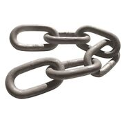 Samco Proof Coil Hot Dip Galvanized Chain 1/2x200and039 Medium Link 060028ml Md