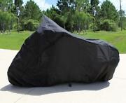 Super Heavy-duty Motorcycle Cover For Ural Bavarian Classic 2000-02 No Sidecar