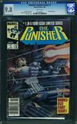 Punisher Limited Series 1 Cgc 9.8 1986 From Daredevil Netflix Wp G11 113 Cm
