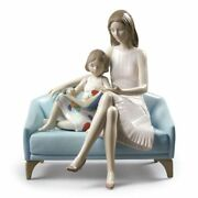 Lladro Our Reading Moment Mother Figurine 01009225