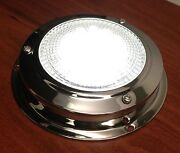 Pactrade Marine Boat Bus Car Rv 3 Lens Ceiling Cabin 12 V Dome Light Ss 304