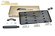 Eos For 16-up Tesla Model S | Full Sized Front Tow Hook License Plate Holder