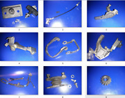 Lots Parts = Mariner 28hp 28e Model 664 Outboard Parts
