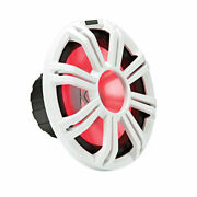 Kicker 12 Led Grille For Kicker Km12 And Kmf12 Subwoofers White   45kmg12w