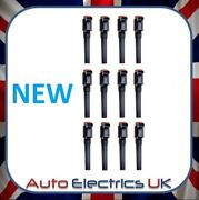 Set Of 12 New Aston Martin Db9 Dbs Rapide Vanquish Ignition Coil Pack 3 Pin