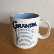 Grandpa Coffee Mug By Papel Grandfather Granddad  Meaning Wise