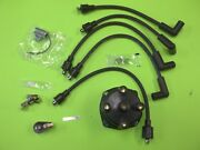 Mercruiser 4 Cyl 3.0 Ignition Wire Set Cap Rotor Kit Points 2.5 Distributor