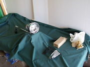 Nos 1955 Ford Spotlight With Mirror And Right Hand Bracket Fomoco 55