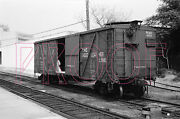 Wellsville, Addison And Galeton Wag Boxcar 5032 - 8x10 Photo