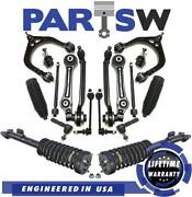 24 Pc Suspension Kit For Chysler 300 And Dodge Charger Magnum Front Control Arms