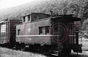Wellsville, Addison And Galeton Wag Caboose 104 - 8x10 Photo