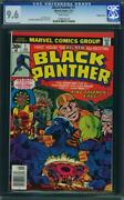 Black Panther 1 Cgc 9.6 Marvel 1977 Double Cover White Kirby H3 129 Cm Bo
